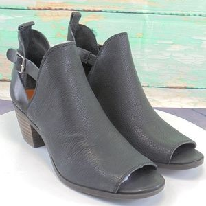 Lucky Brand Banu Black. Goat Hide Bootie